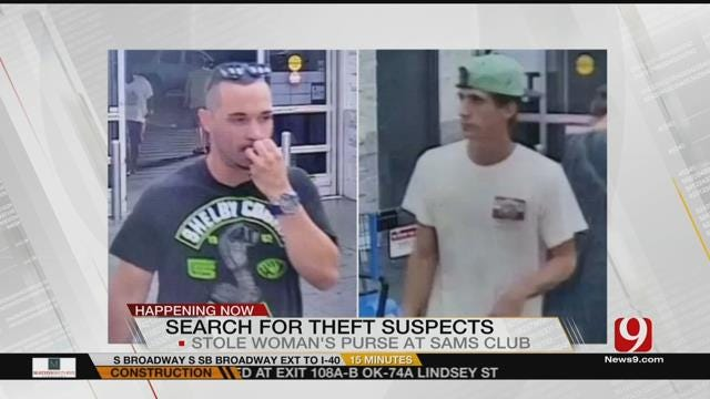 Police Looking For Two Men In Connection With Purse Snatching