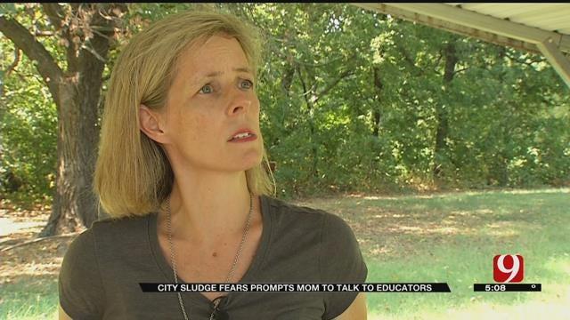 City Sludge Fears Prompt OKC Mom To Talk To Educators
