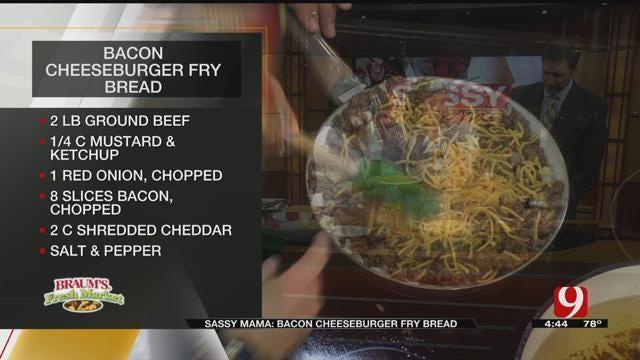 Bacon Cheeseburger Fry Bread
