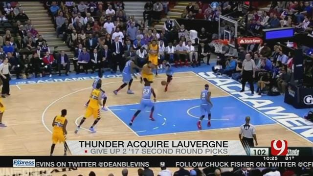 Thunder Acquires Joffrey Lauvergne From Nuggets