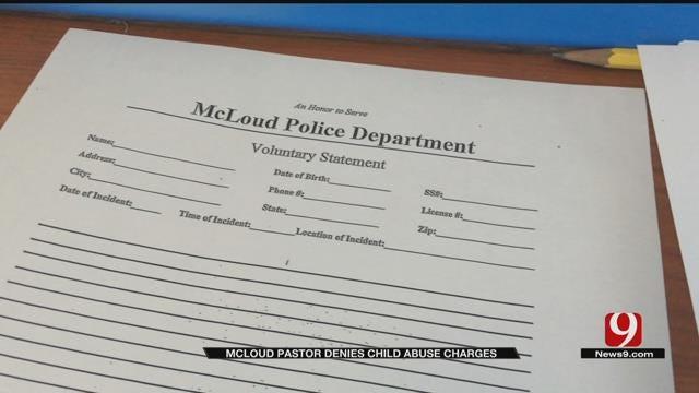 McLoud Pastor Denies Child Abuse Allegations