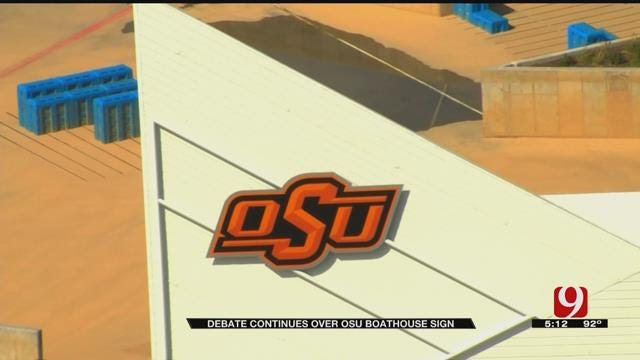 OSU Boathouse Sign To Be Taken Down