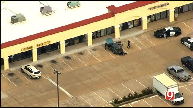 WEB EXTRA: SkyNews 9 Flies Over Reported Bomb Threat In Edmond