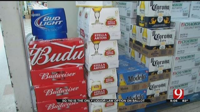 SQ 792 Is The Only Liquor Law Option On November Ballot
