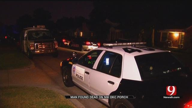 Police: Body Found On Porch In NW OKC