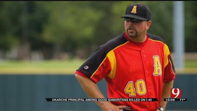 Baseball Players Remember Good Samaritan Killed In I-40 Auto Crash