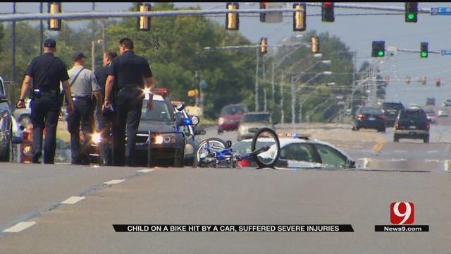 Police: Child Injured In MWC Auto-Ped Crash