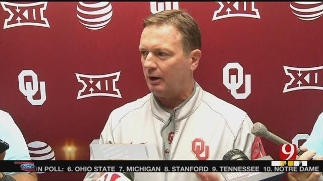 Stoops Pleased With Progression Of Riley, Offense