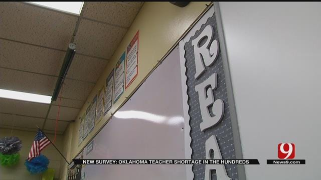 Survey: More Than 500 Teaching Jobs Are Still Open In OK