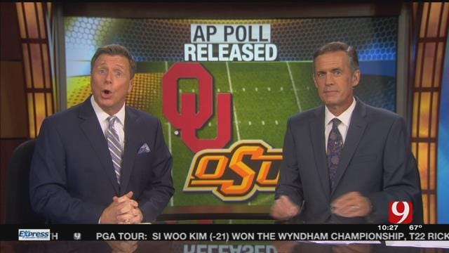 AP College Football Poll Released