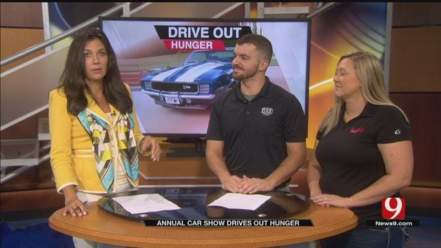 Car Show At Freddy's Frozen Custard In Moore To Benefit Food Bank