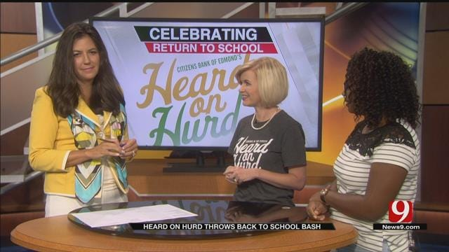 'Heard On Hurd' Back To School Bash To Take Place Saturday In Edmond
