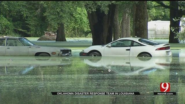 Oklahoma Disaster Response Team In Louisiana