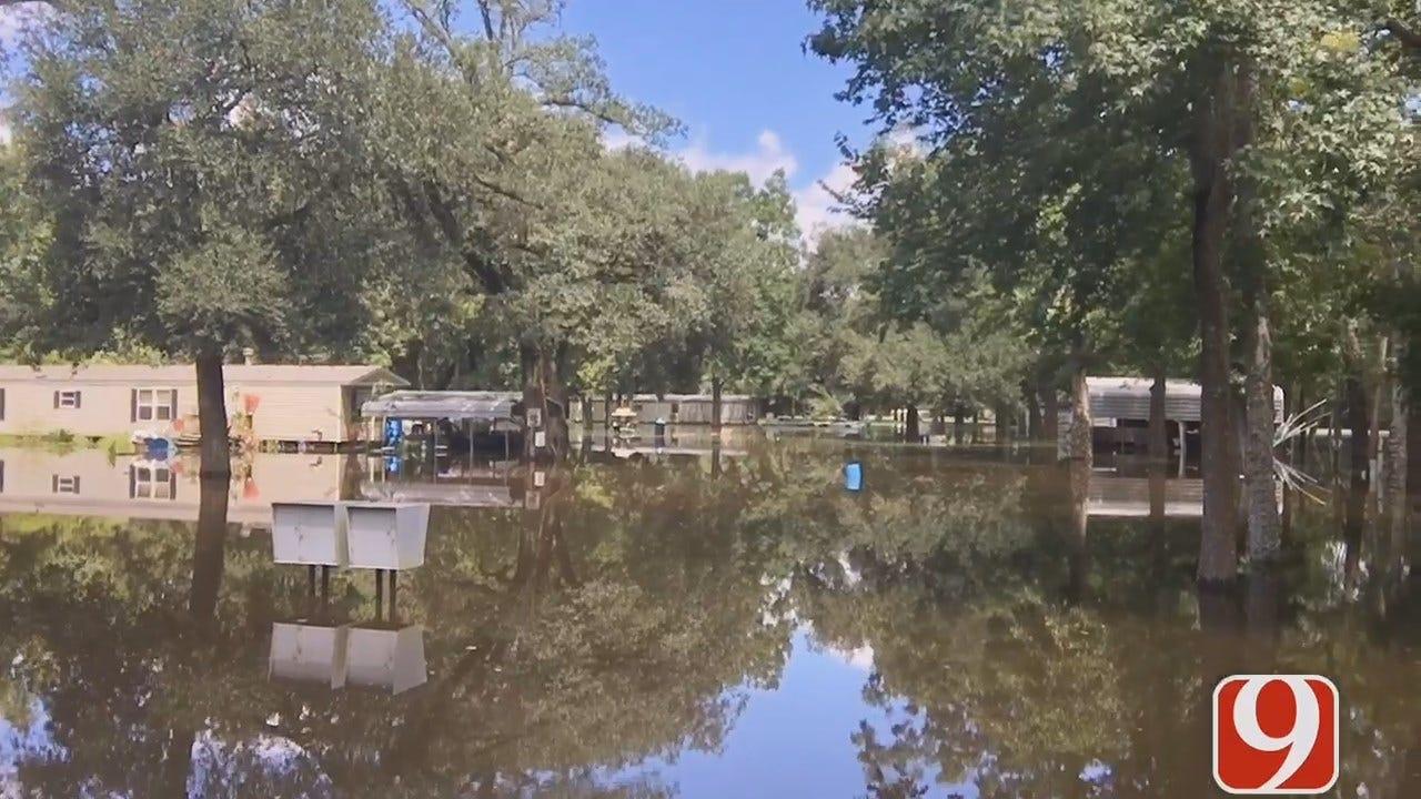 Flooding In Baton Rouge, LA