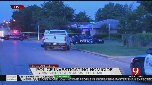 Police Investigate Homicide After Man Found Dead In SW OKC