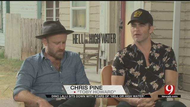 Part I: Movie Man Dino Lalli Interviews Cast Of 'Hell Or High Water'