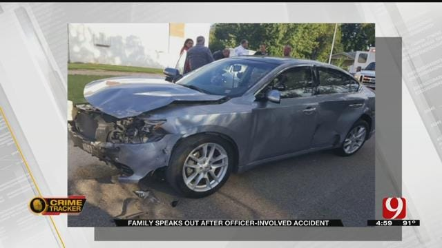OKC Family Says Officer Ran Stop Sign Before Injury Crash