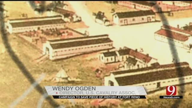 Campaign Raises Money To Restore Mule Barn At Fort Reno