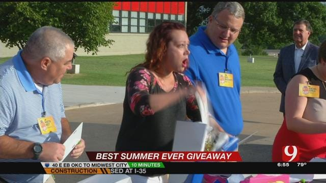 Best Summer Ever: Nicole Collyar Of Norman Wins New Ford Mustang
