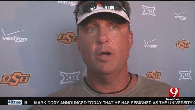 OSU Football: Gundy Says He'll Name Backup QB Soon