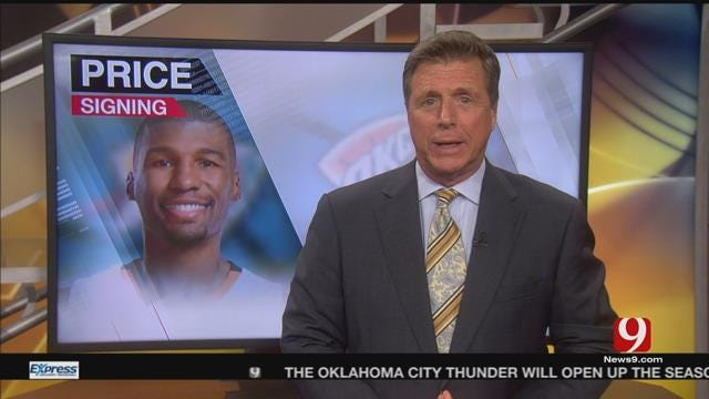 Thunder Sign Ronnie Price, NBA Schedules Released