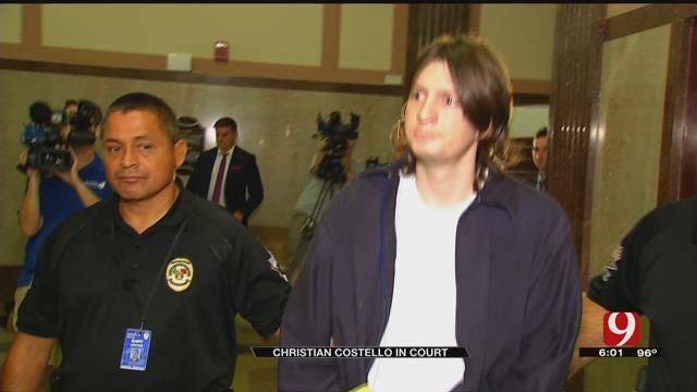 Oklahoma Judge Orders Christian Costello To Be Evaluated By State Medical Expert