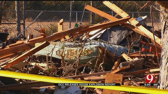 OCC: ONG Failed To Properly Inspect Pipes Ahead Of NW OKC Home Explosion