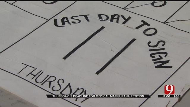 Supporters Need More Signatures To Put Medical Marijuana On Nov. Ballot