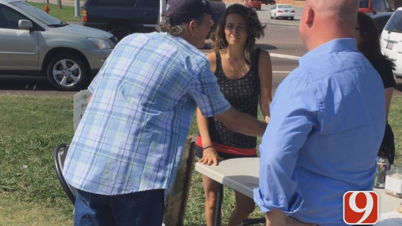 WEB EXTRA: Supporters Collecting Signatures To Put Medical Marijuana On Nov. Ballot
