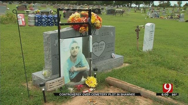 Controversy Over Cemetery Plot In Shawnee
