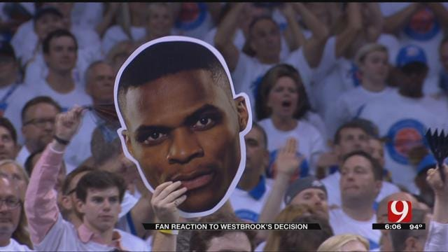 Thunder Fans React To Russell Westbrook's Decision