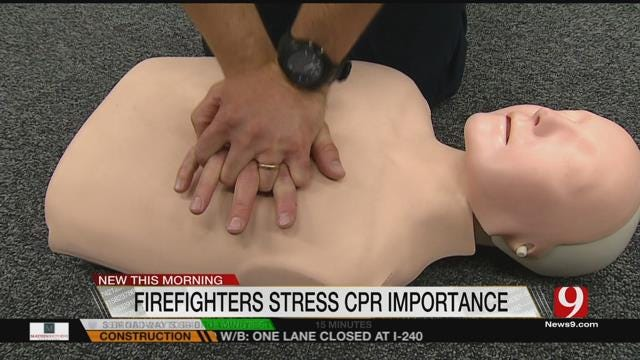 Fire Departments Helping Oklahomans Learn CPR Basics