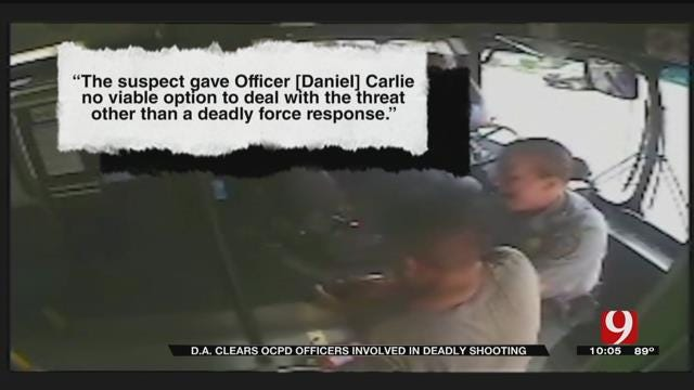 OK Co. DA Clears OKC Police Officers Involved In Deadly Shooting