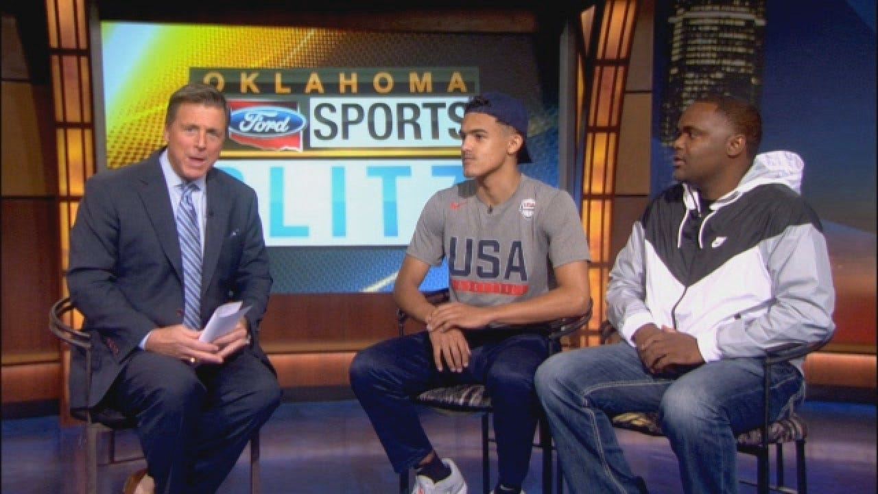 Trae Young Sits Down With Dean Blevins