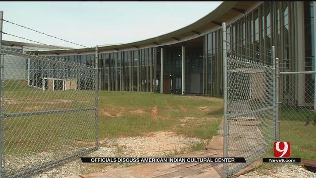 Officials Discuss Issues Stalling The American Indian Cultural Center