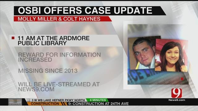 OSBI To Release New Details In Disappearances Of Molly Miller, Colt Haynes