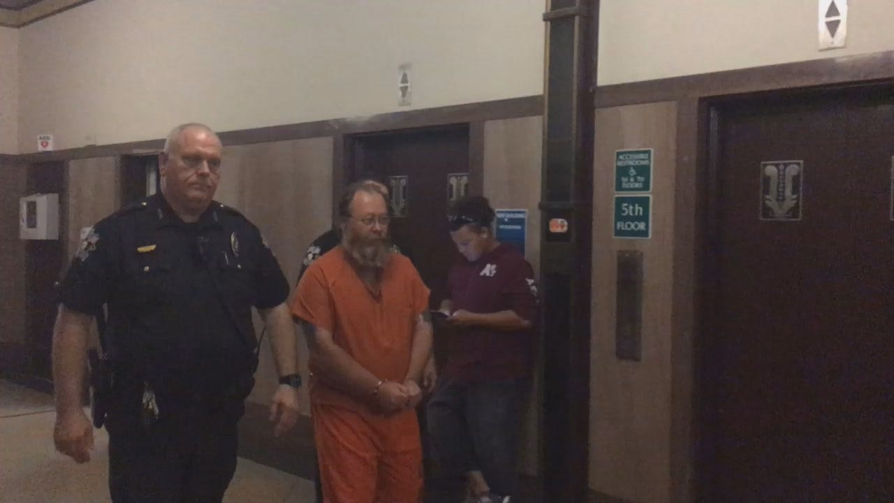 WEB EXTRA: Accused Serial Killer William Reece Arrives At Oklahoma Co. Courthouse