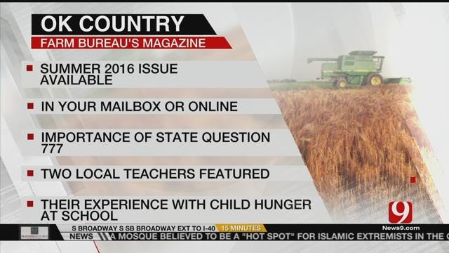 AG REPORT: Oklahoma Country Magazine Now Available