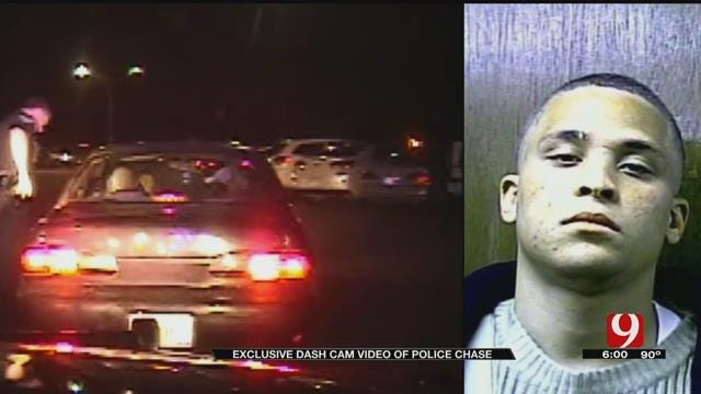 Dash Cam Video Released Of Lengthy Newcastle Police Chase