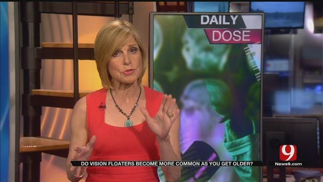 Daily Dose: Vision 'Floaters' Increase With Age?