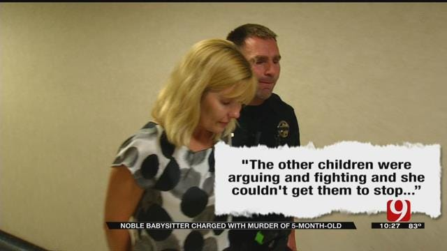 Noble Woman Charged In Connection With Baby's Death