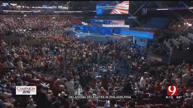 Oklahoma Delegates Gather In Philadelphia For DNC