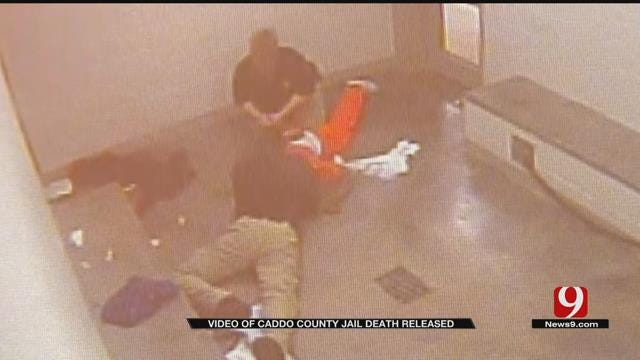 Surveillance Video Released In Connection To Caddo Co. Inmate's Death