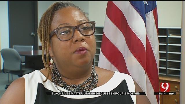 Oklahoma Black Lives Matter Leader Speaks About Group's Motives