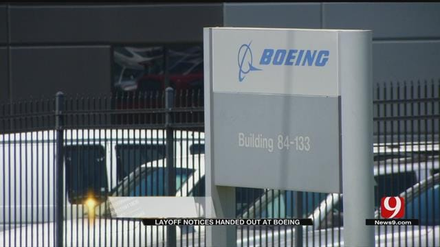 Boeing Employees Receive 60-Day Notices As Possible Layoffs Loom
