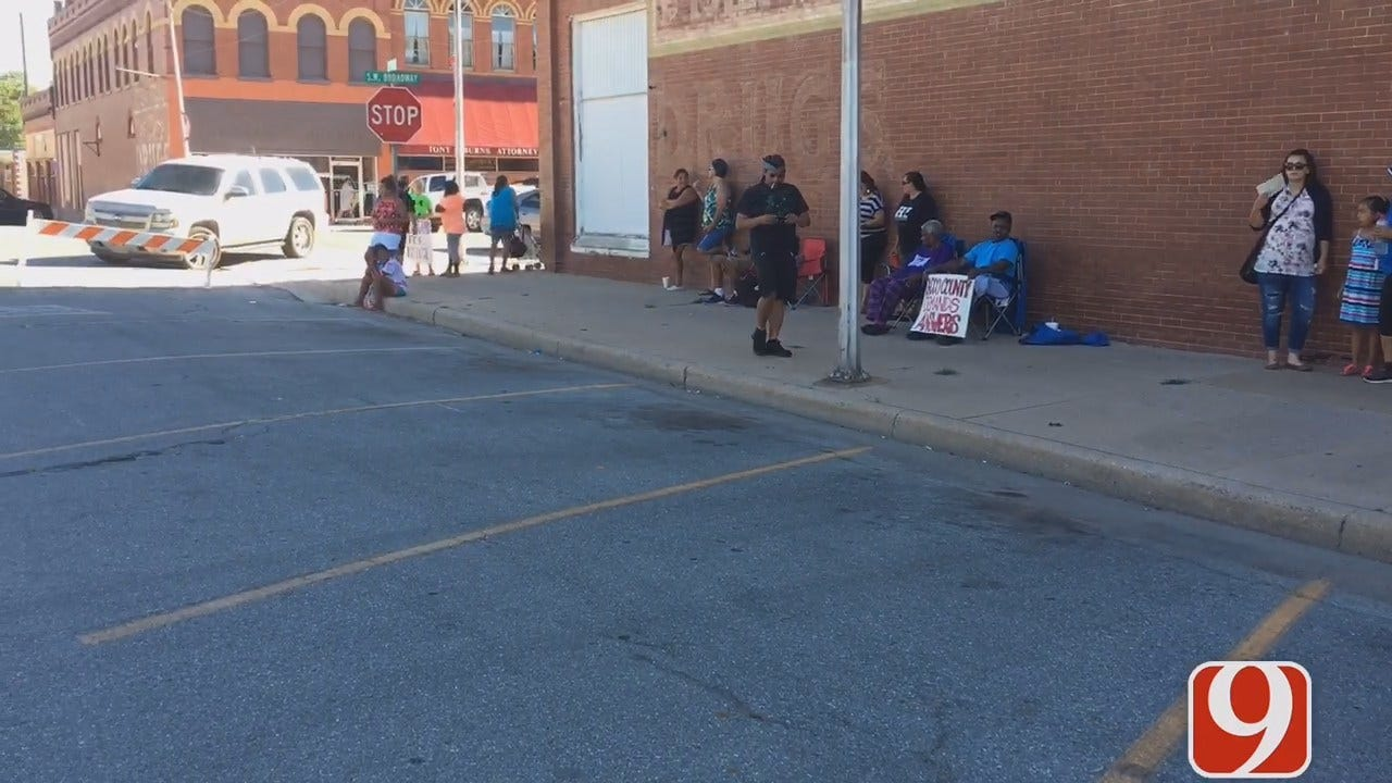 WEB EXTRA: Justice For Darius Robinson Protest Attracts A Crowd