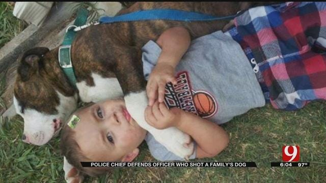 Wynnewood Police Chief Defends Officer Who Shot A Family's Dog