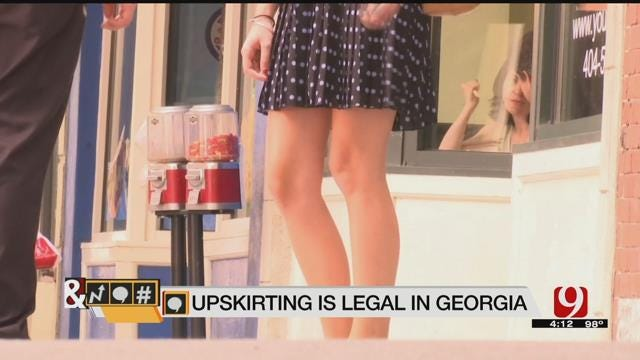 Trends, Topics & Tags: 'Upskirt Pics' Legal In Georgia