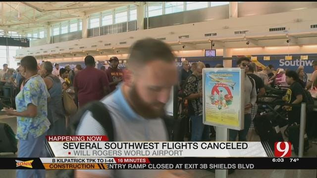 Computer Glitch Affects Southwest Flights At Will Rogers World Airport