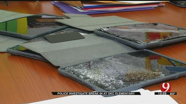 More Than Two Dozen iPads Stolen, Damaged At SW OKC Elementary School
